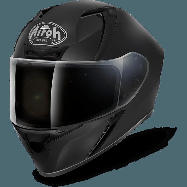 CASCO MOTO INTEGRALE AIROH VALOR COLOR BLACK MATT