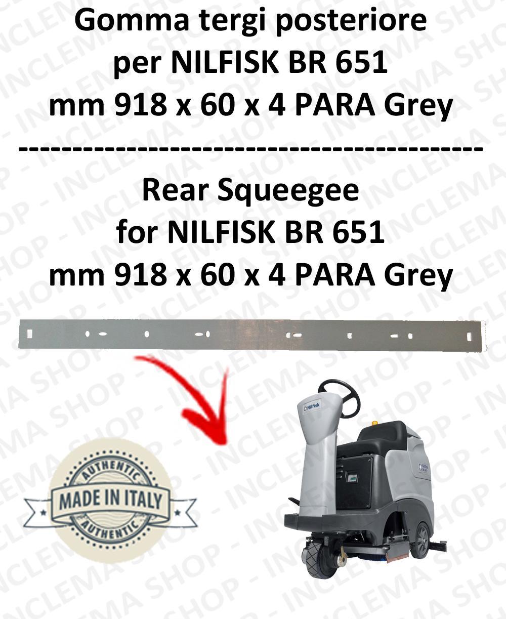 BR 651 - GOMMA TERGI posteriore per lavapavimenti NILFISK