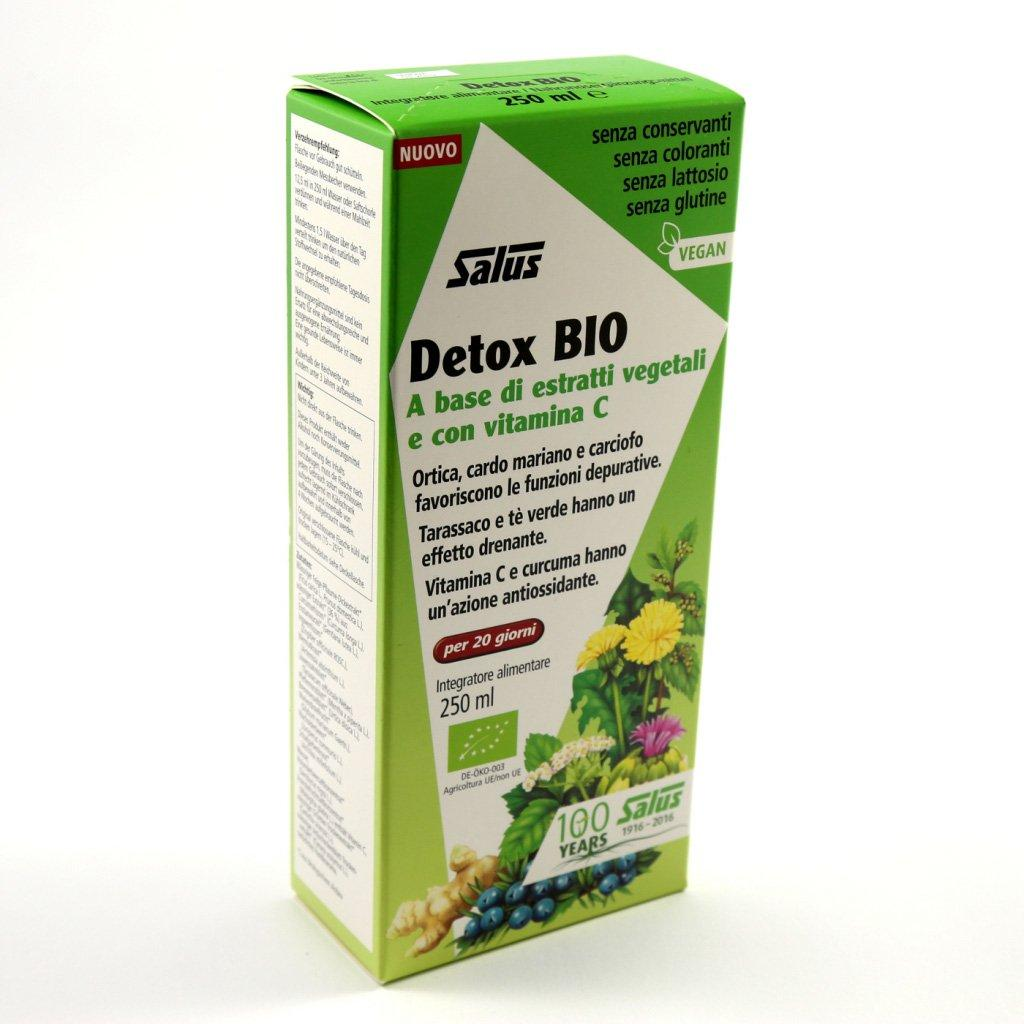 DETOX BIO based on vegetable extracts and with vitamin C 250 ml