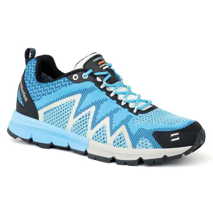 123 KIMERA RR WOMEN'S - Knit Hiking Shoes - Light Blue