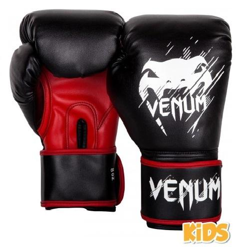 GUANTONI JUNIOR VENUM Contender – Black/Red 6 oz