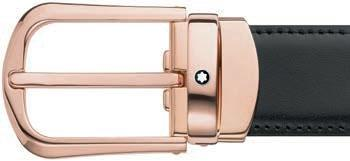 Cintura Montblanc Classic Line Red Gold Reversible