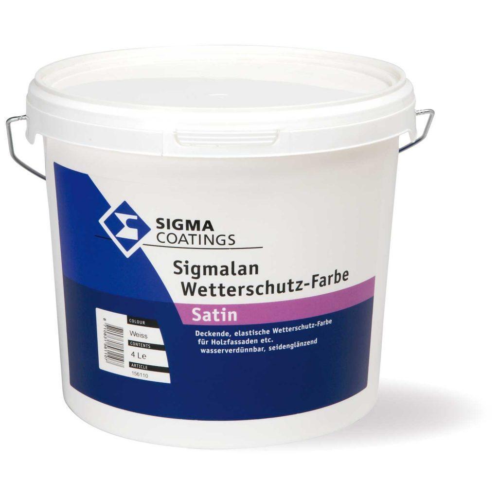 Pittura effetto sbiancato per legno Sigmalan Wetterschutz SIGMA (disponibile in negozio)