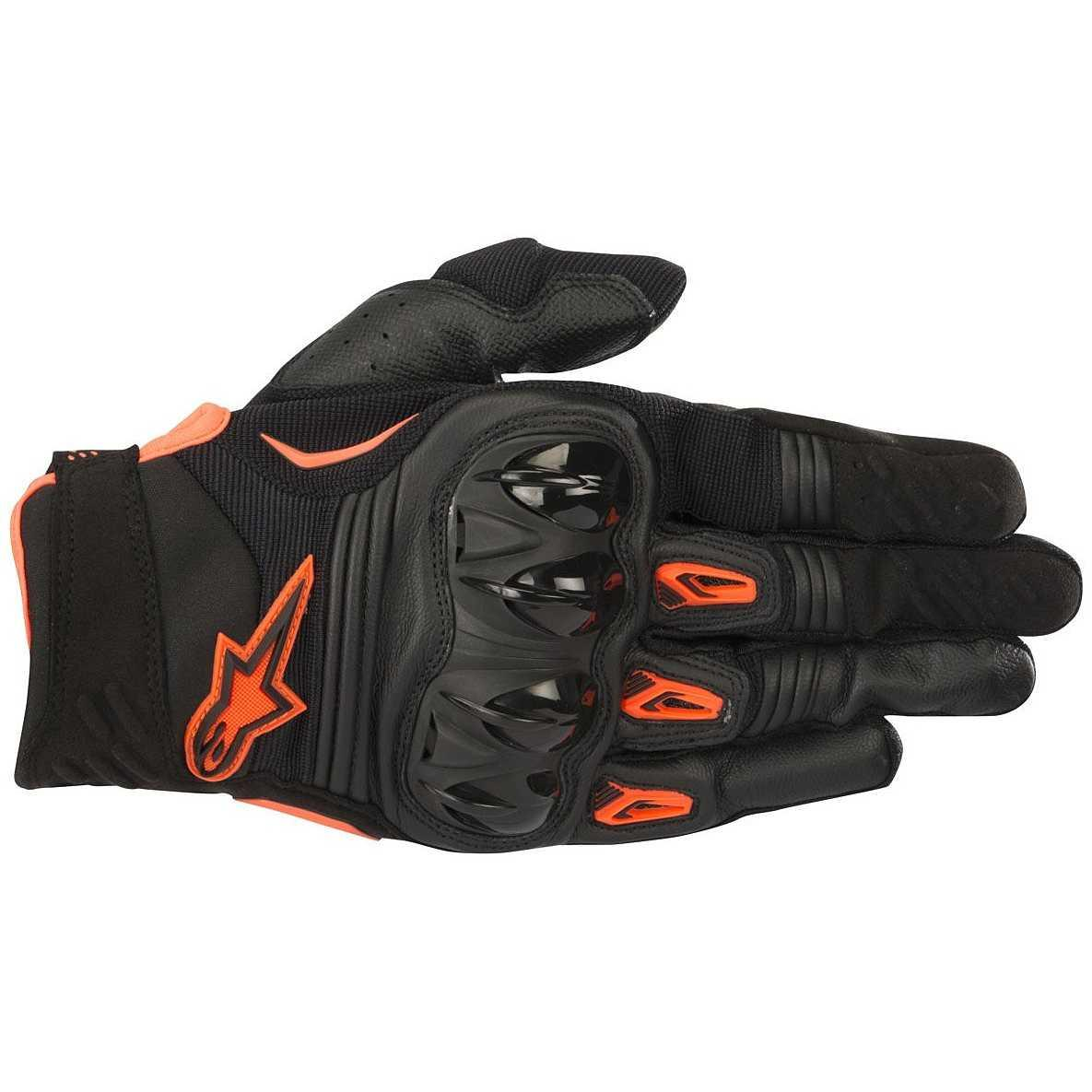 GUANTI MOTO CROSS ALPINESTARS 2018 MEGAWATT BLACK ANTHRACITE ORANGE FLUO