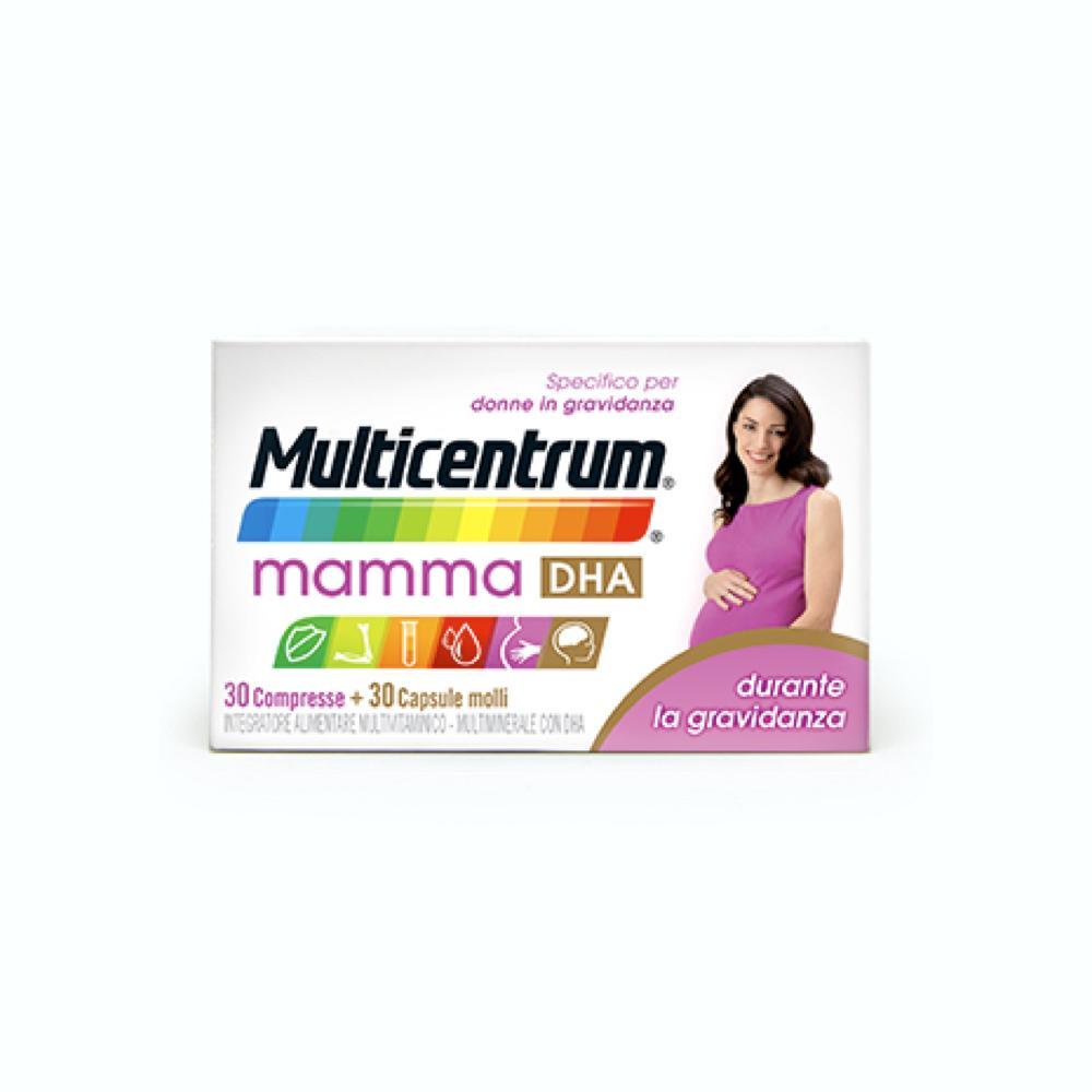 MULTICENTRUM MAMMA DHA INTEGRATORE PER LE DONNE DURANTE LA GRAVIDANZA 30+30
