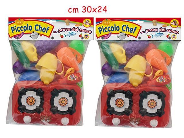 PICCOLO CHEF SET CUCINA 30PZ 64035 TEOREMA