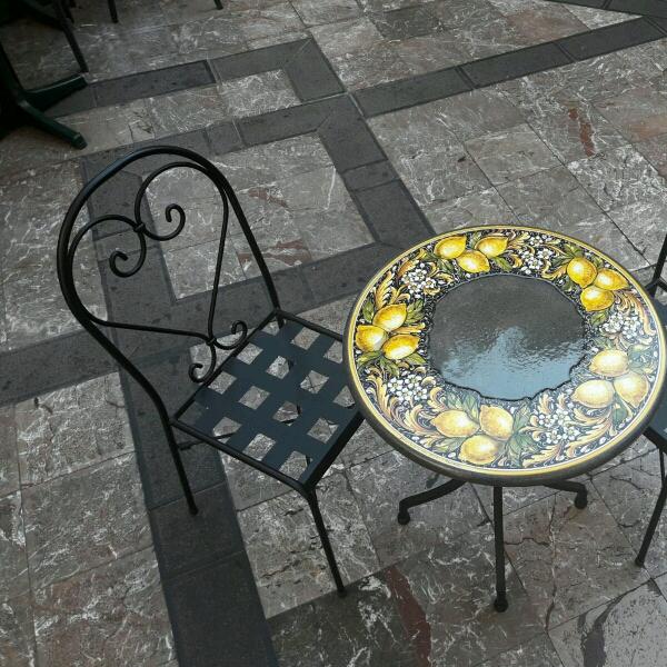 Tavolo in pietra lavica etna pietra lavica ceramizzata - Tavolo pietra lavica ...