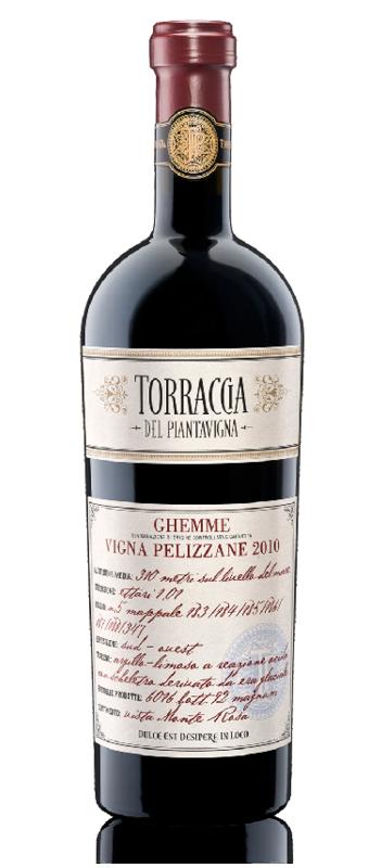 Vino rosso GHEMME DOCG vigna Pelizzane
