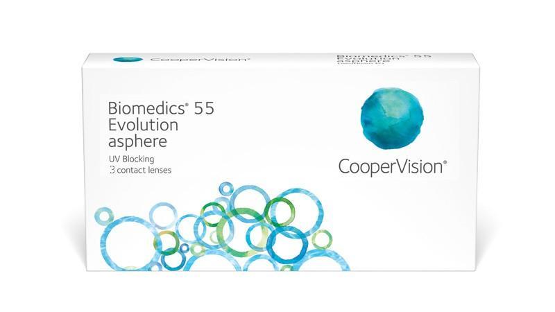 Biomedics 55 Evolution (3 lenti)
