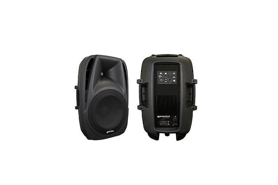 Diffusore amplificato 2 vie GEMINI ES8P 150 W