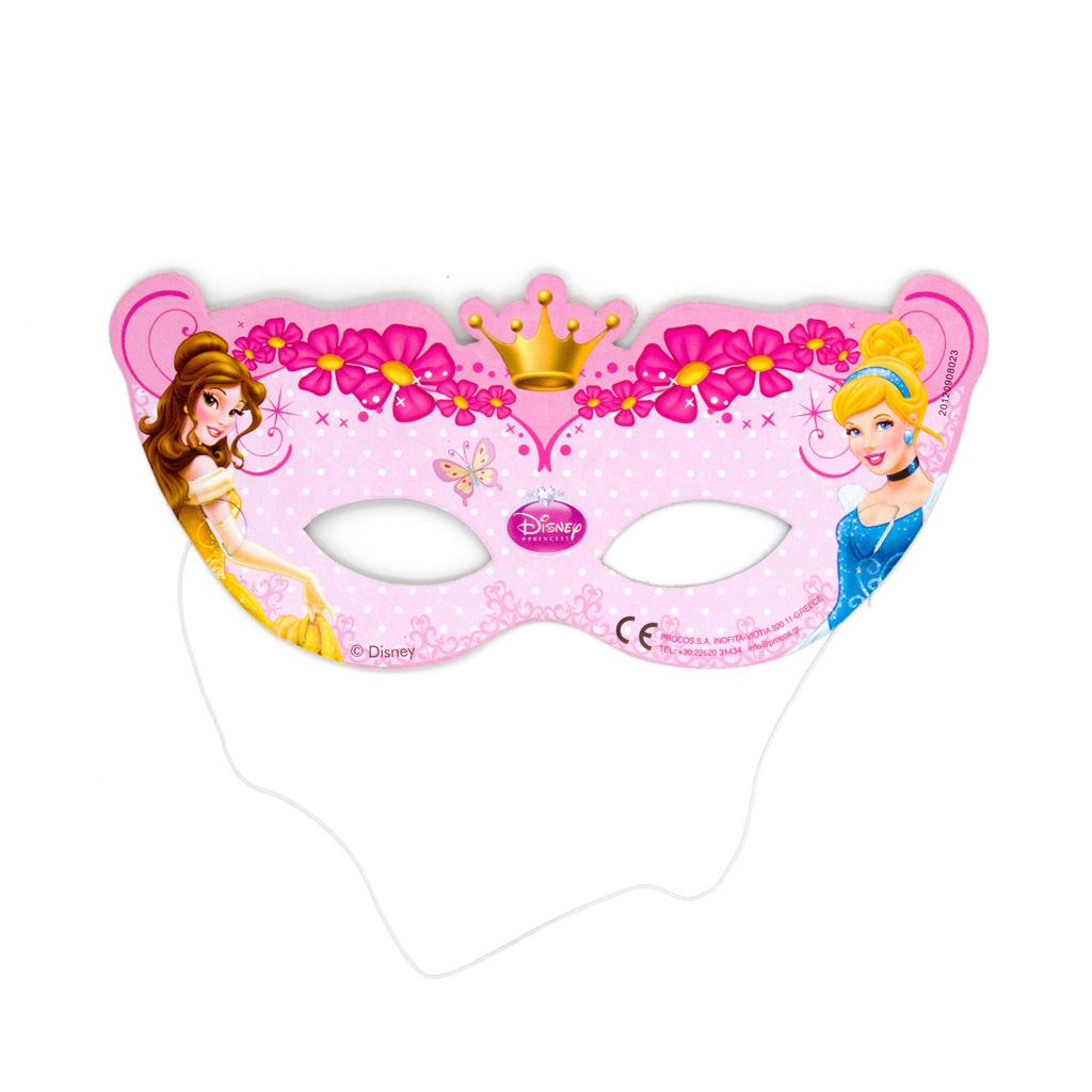 Maschera in cartone Disney Princess