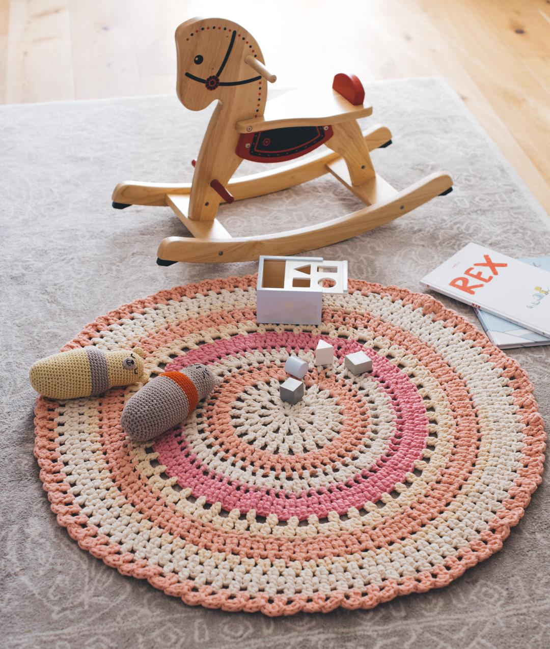 Kids Home Decor Collection - HomewareKids Home Decor Collection - Homeware - RING O'ROSES RUG - 1