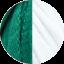 Emerald - White