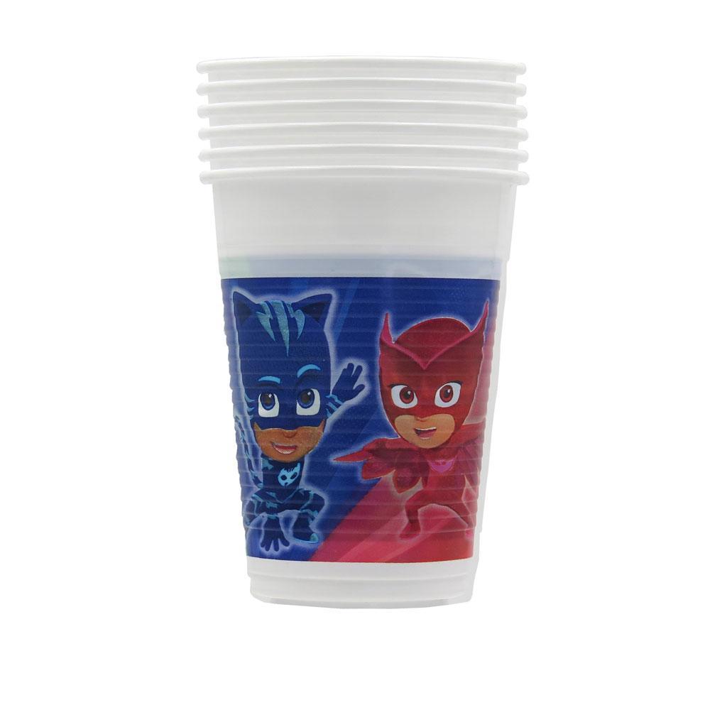 Bicchieri in plastica Pj Masks