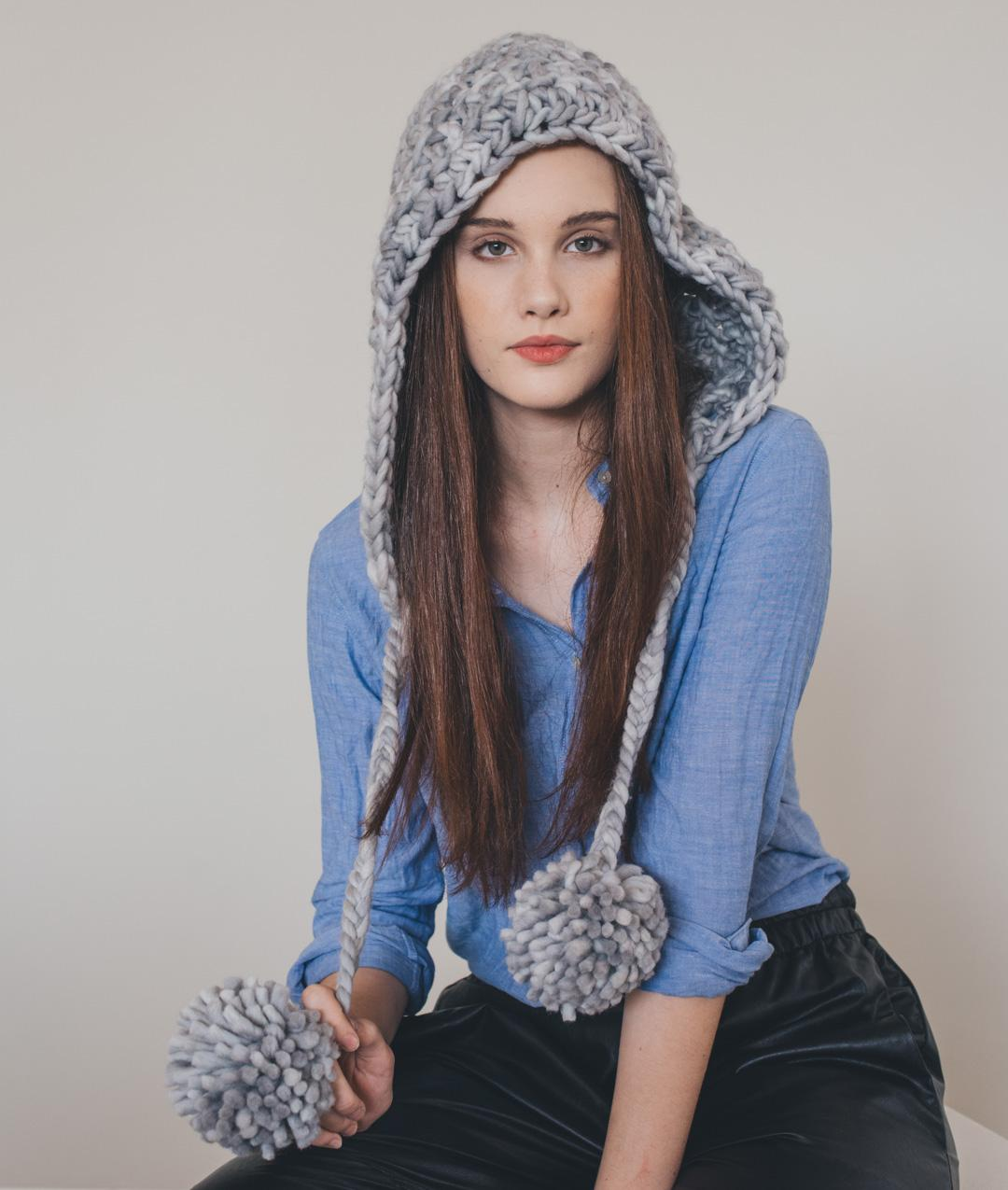 Hats and Beanies - Wool - LILY HOOD - 1