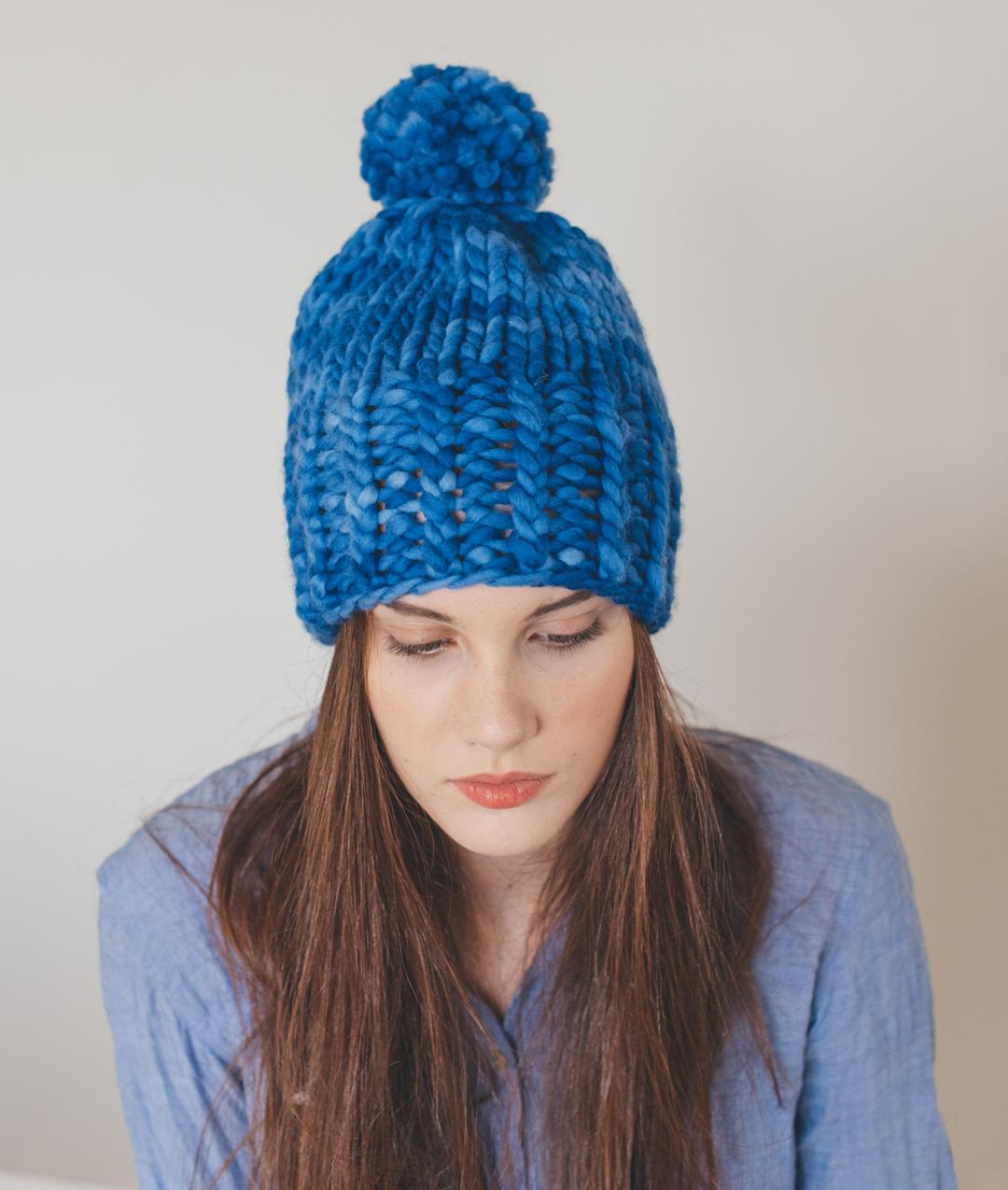Hats and Beanies - Wool - Rib Twisted Beanie - 1