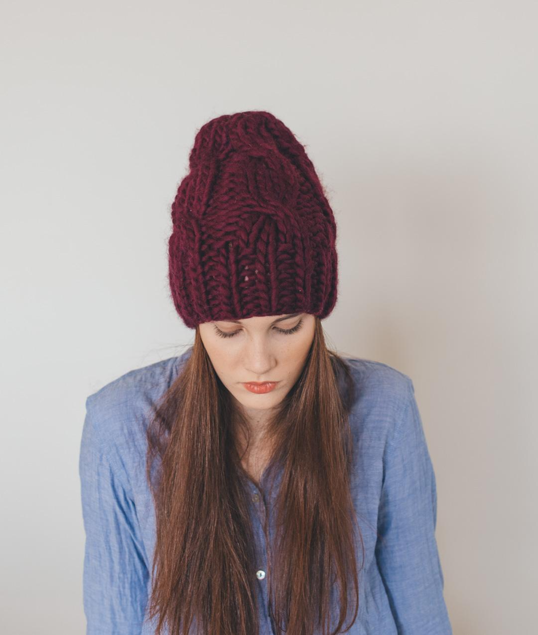 Hats and Beanies - Wool - Cable Beanie - 1