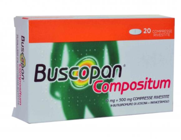 BUSCOPAN COMPOSITUM 20 COMPRESSE