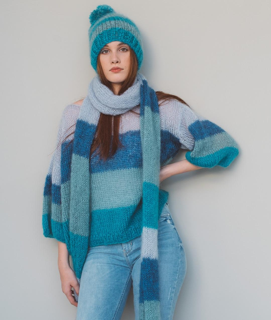 49663924df9c Kalamaja Scarf  Wool Knit Kit for Scarves and Snoods online + Pattern    Bettaknit