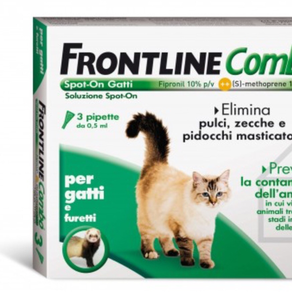 FRONTLINE COMBO spot-on GATTI e FURETTI MERIAL  conf.3PIP