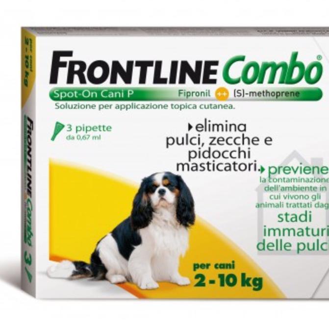 FRONTLINE COMBO CANE spot-on 2 - 10 KG MERIAL  conf.3PIP