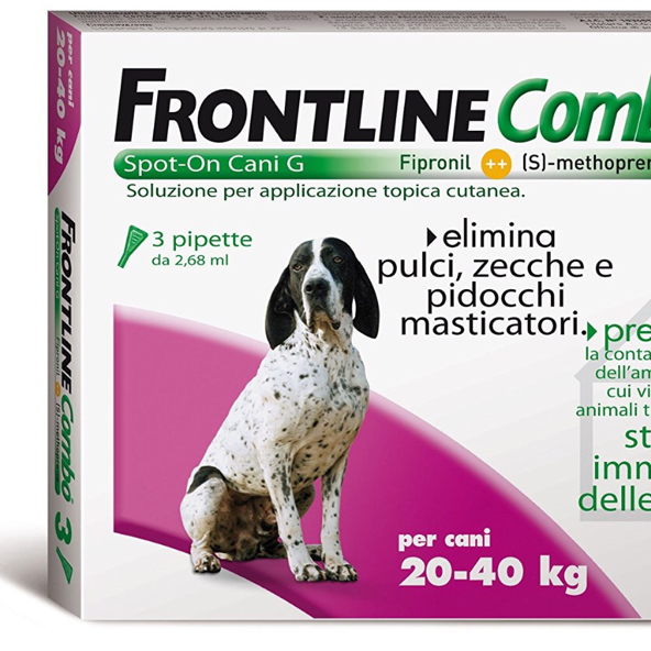 FRONTLINE COMBO CANE spot-on 20 - 40 KG MERIAL  conf.3PIP