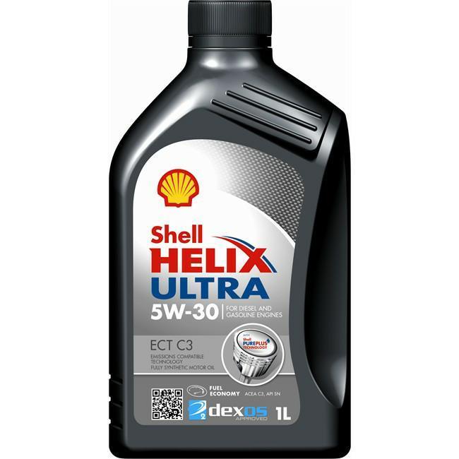 Shell Helix Ultra ECT C3 5W-30 barattolo 1 Litro