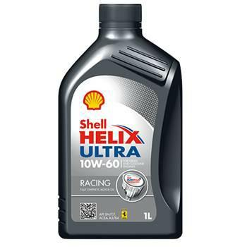 Shell Helix Ultra Racing 10W/60 barattolo 1 Litro