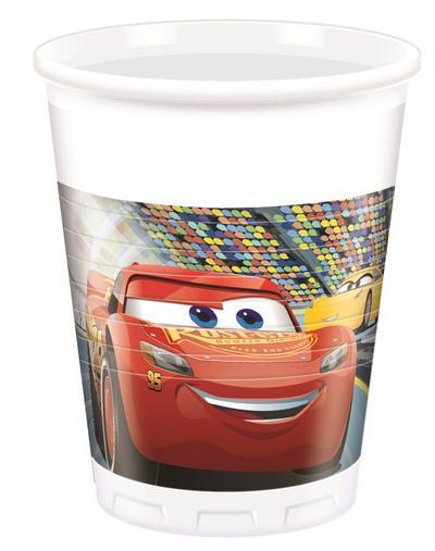 Cars 3 bicchieri plastica festa 200ml-2