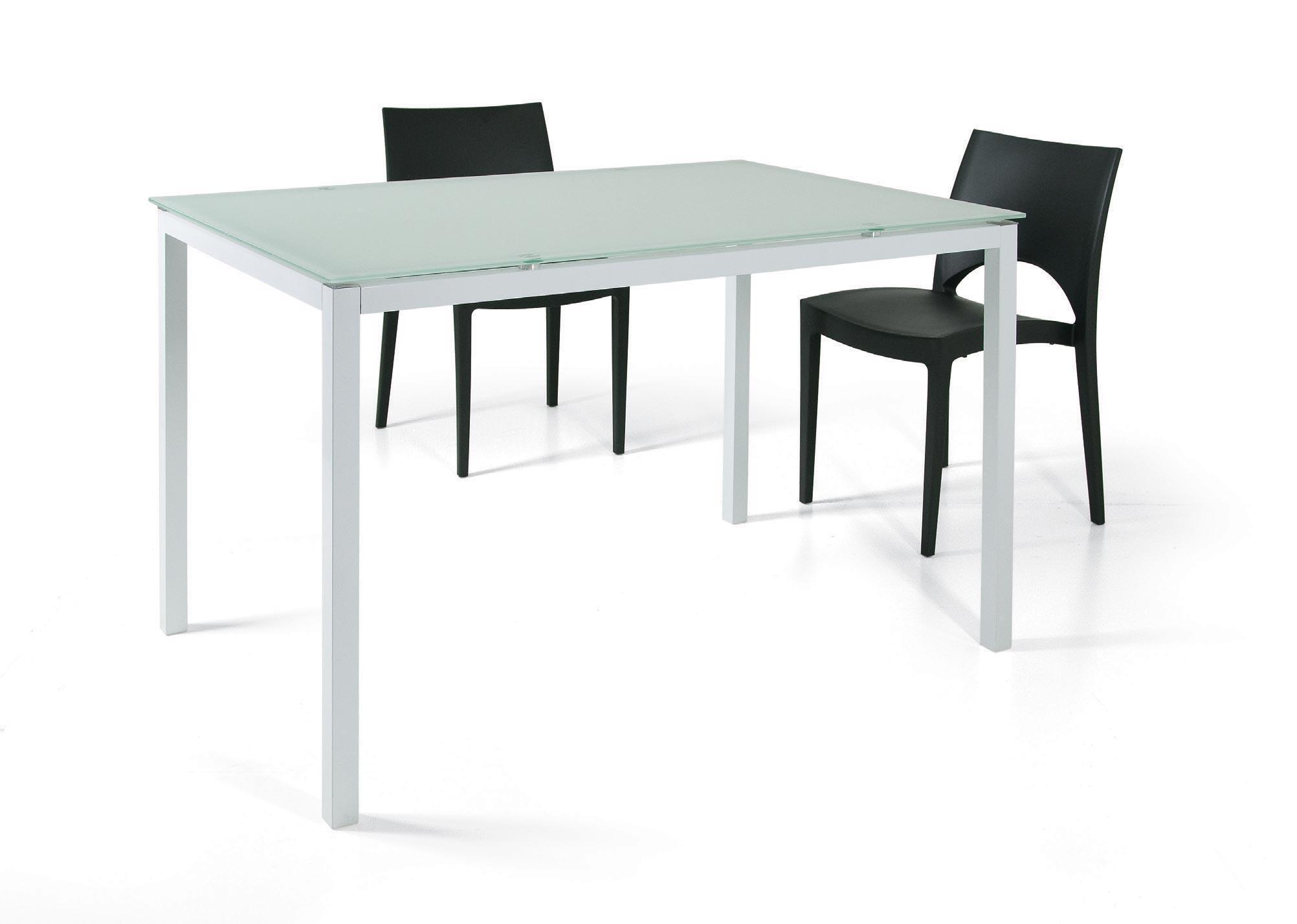 Abitare giovane tavolo fast white chiarelli group - Tavolo vetro temperato opinioni ...
