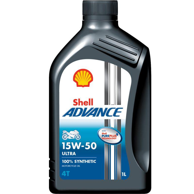 Shell Advance 4T Ultra 15w/50 barattolo 1 litro