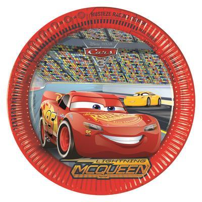 Cars 3 piatti festa 23 cm
