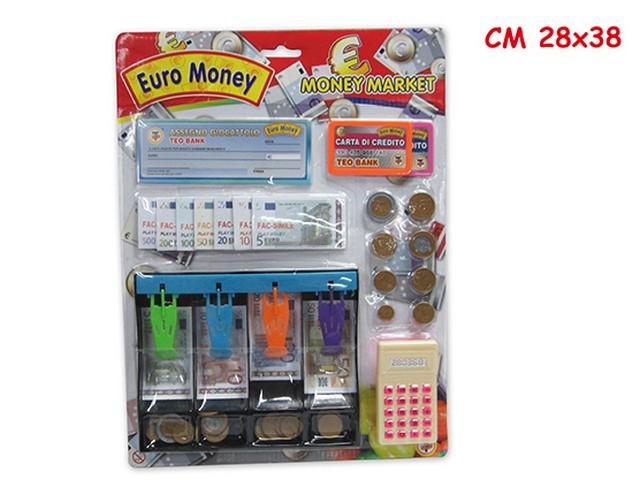 BLISTER EURO MONEY C/ACC. 61336 TEOREMA