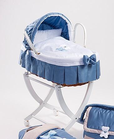 Picci cesta in giunco con cappotta e piumetto coco 39 art - Ceste porta enfant ...