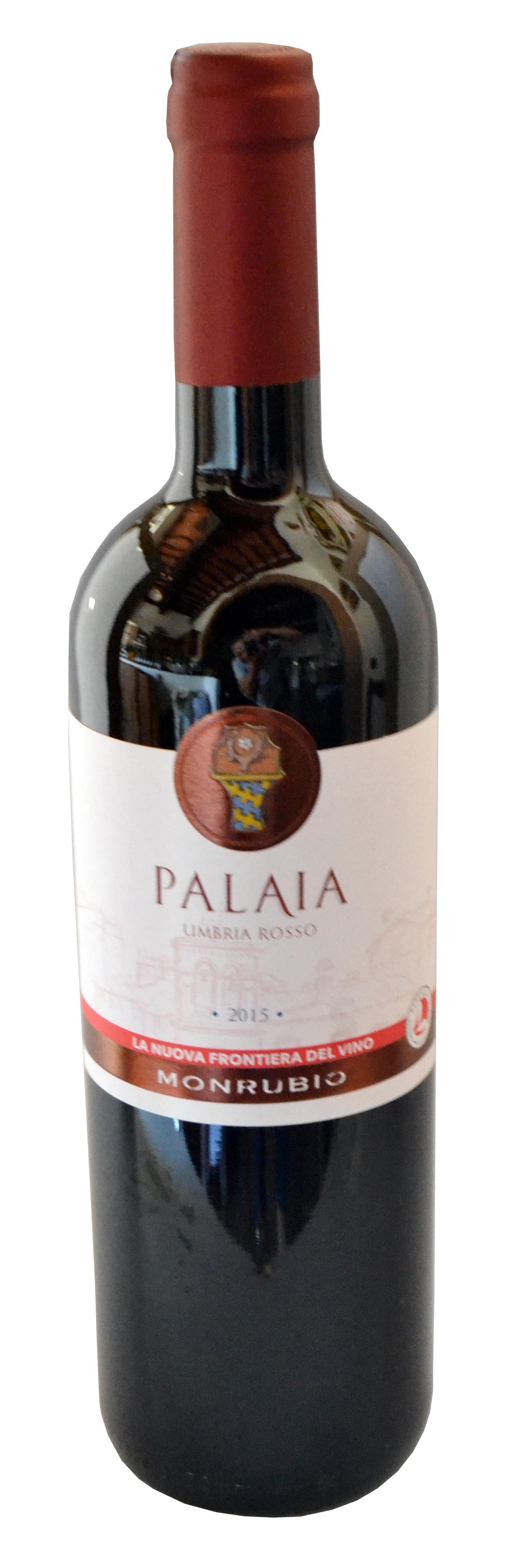 Vino Rosso dell'Umbria IGT bottiglia da lt. 0,75