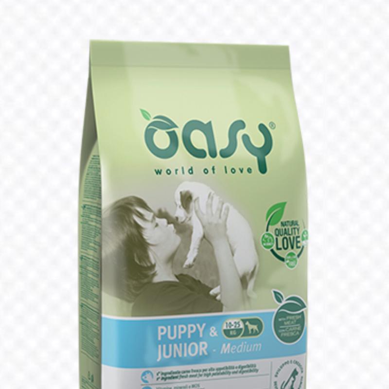 OASY DOG PUPPY JUNIOR MEDIUM 3 KG