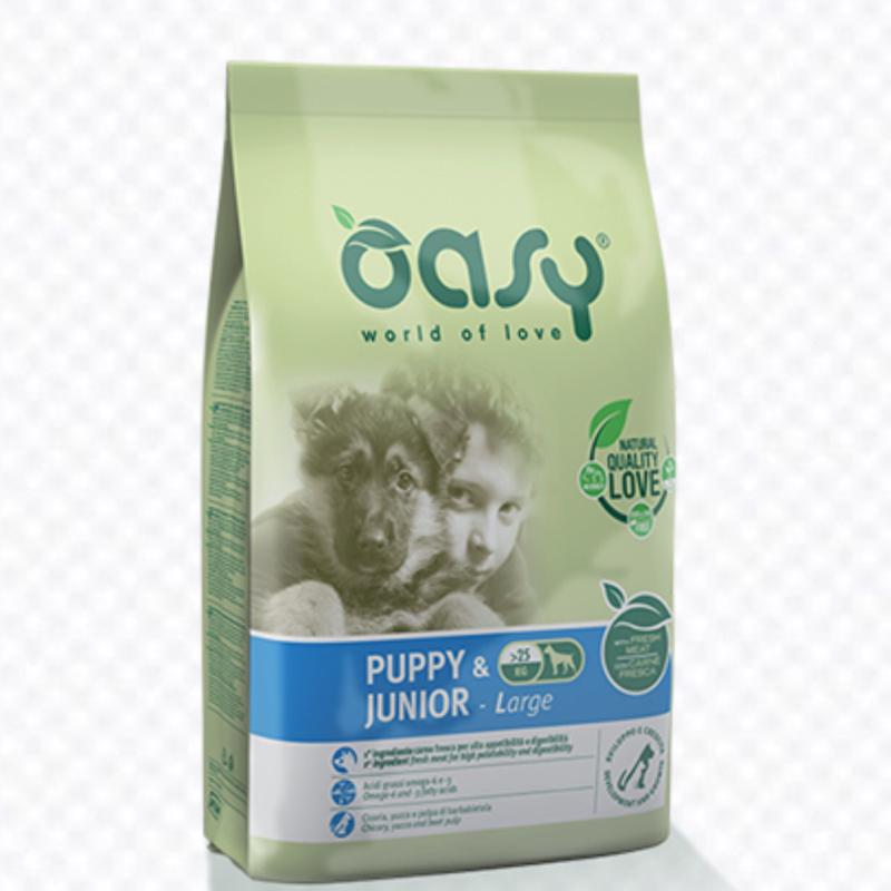 OASY DOG PUPPY JUNIOR LARGE 3 KG