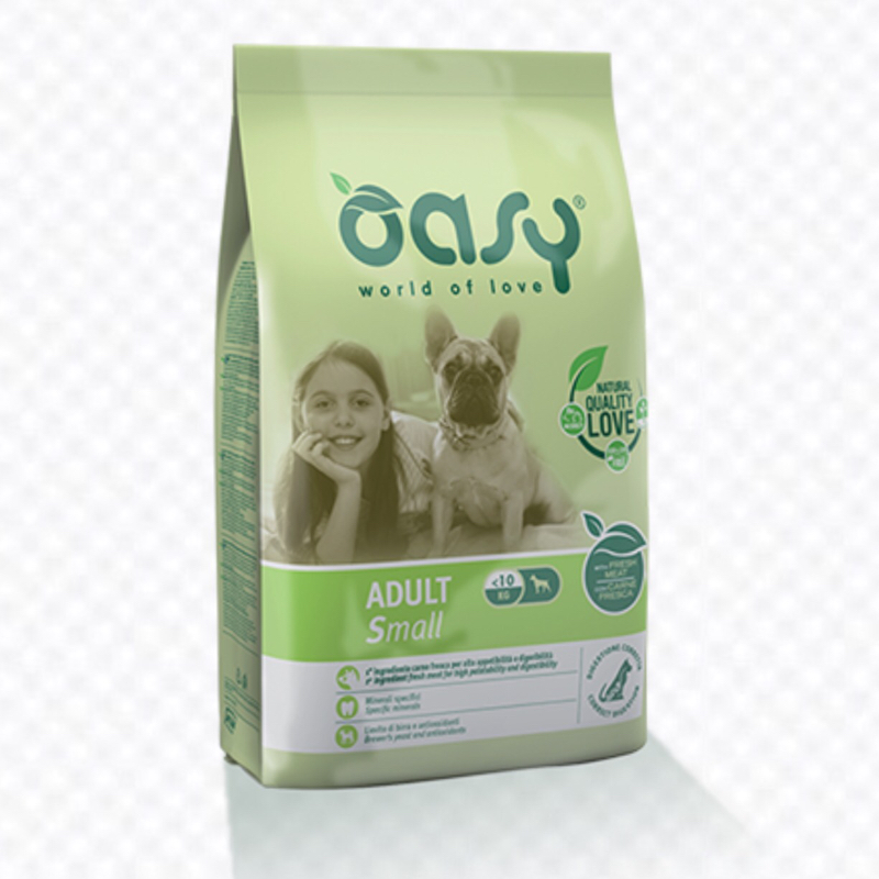 OASY DOG ADULT SMALL 1 KG