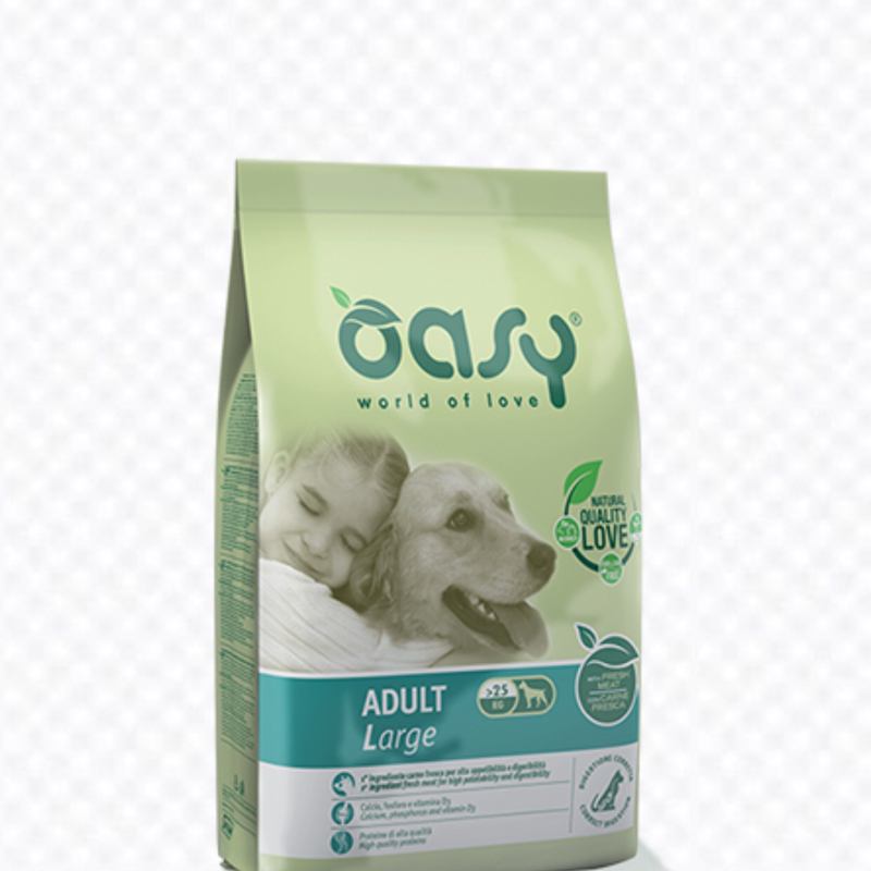 OASY DOG ADULT LARGE 3 KG