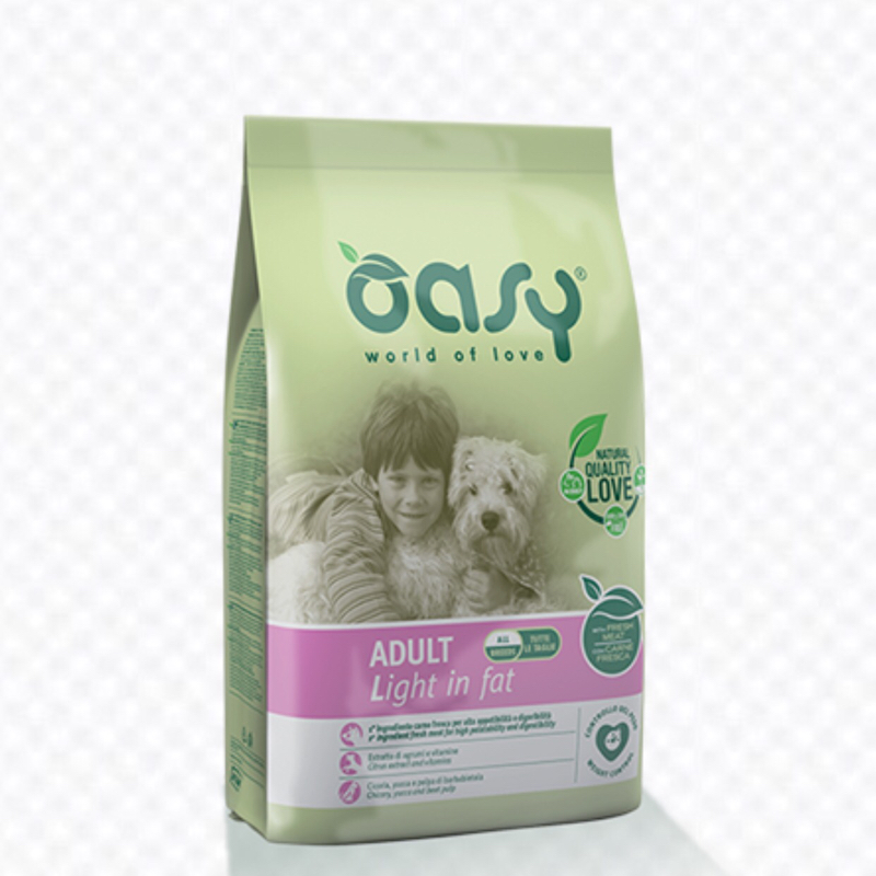 OASY DOG LIGHT IN FAT 3 KG