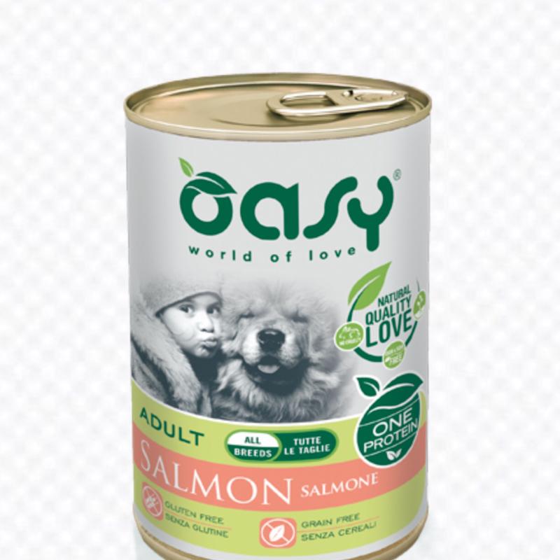 OASY DOG ADULT SALMONE MONOPROTEICO 400 g