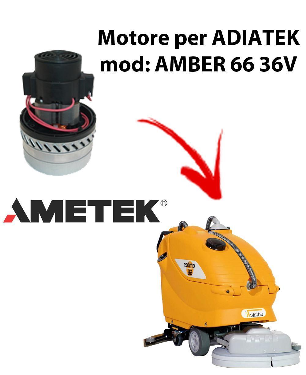 Amber 66 - 36 volt Vacuum motors AMETEK Italia for scrubber dryer Adiatek