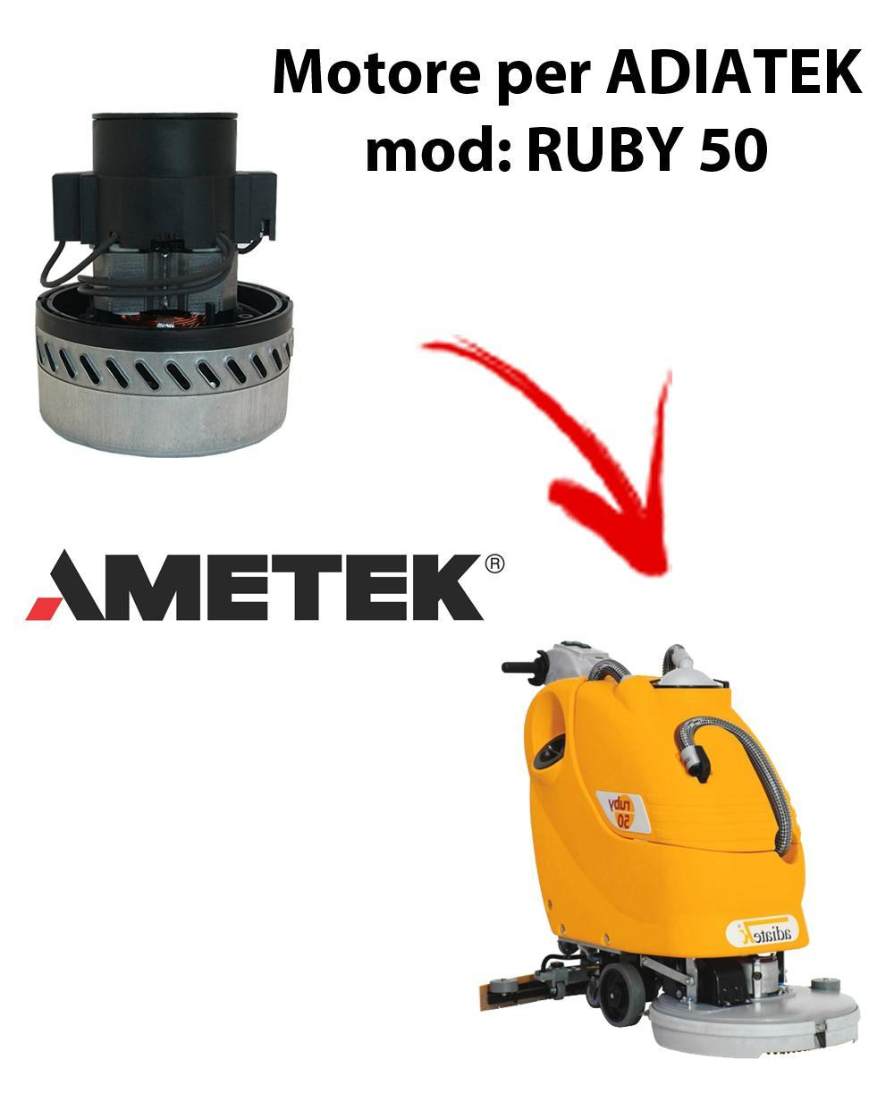 RUBY 50  Vacuum motors AMETEK Italia for scrubber dryer Adiatek