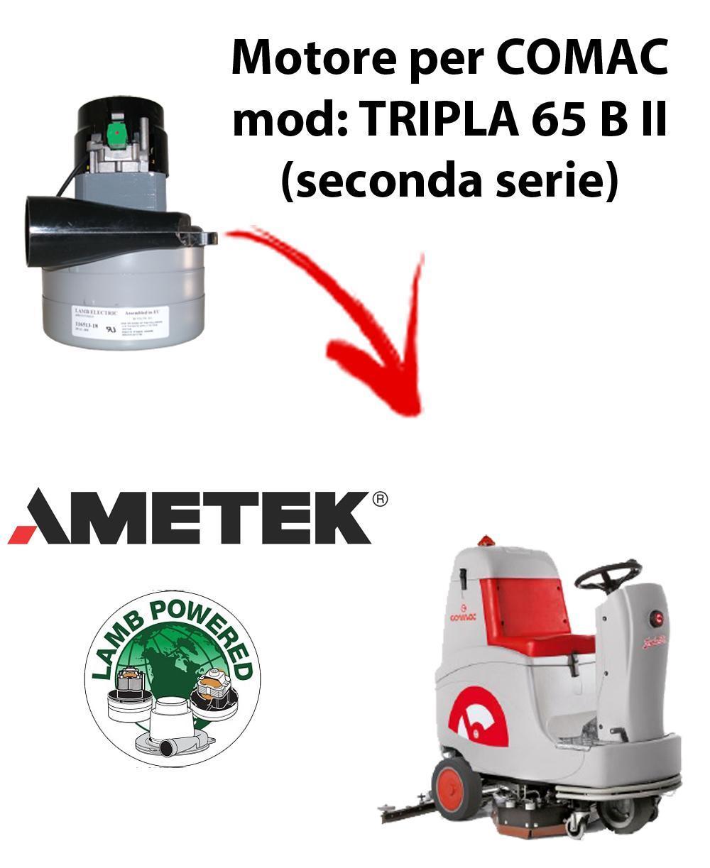 TRIPLA 65 B II Ametek Vacuum Motor aspirazione scrubber dryer Comac