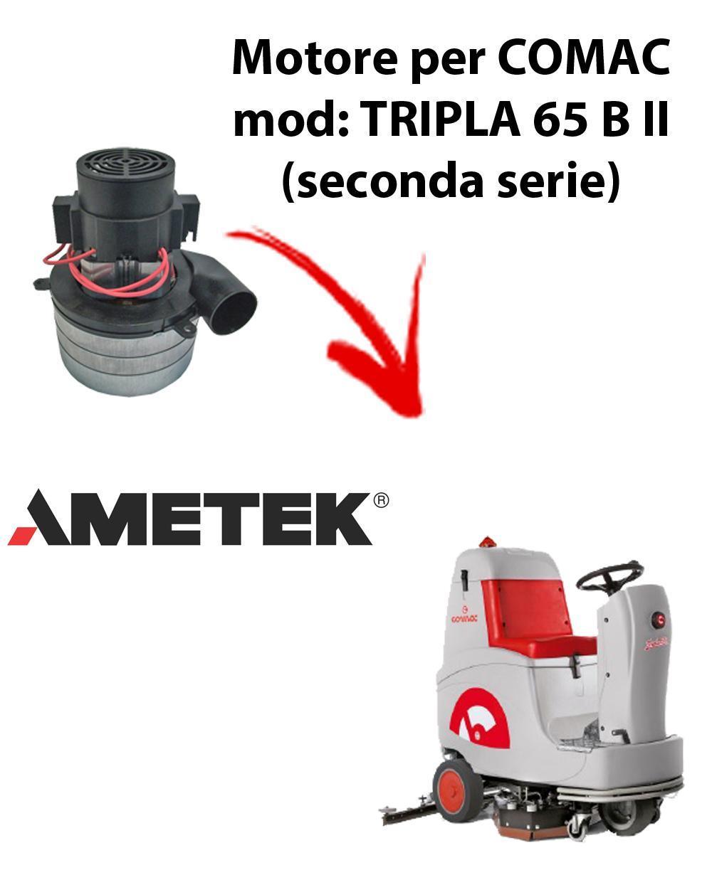 TRIPLA 65B II Vacuum motors AMETEK Italia for scrubber dryer Comac