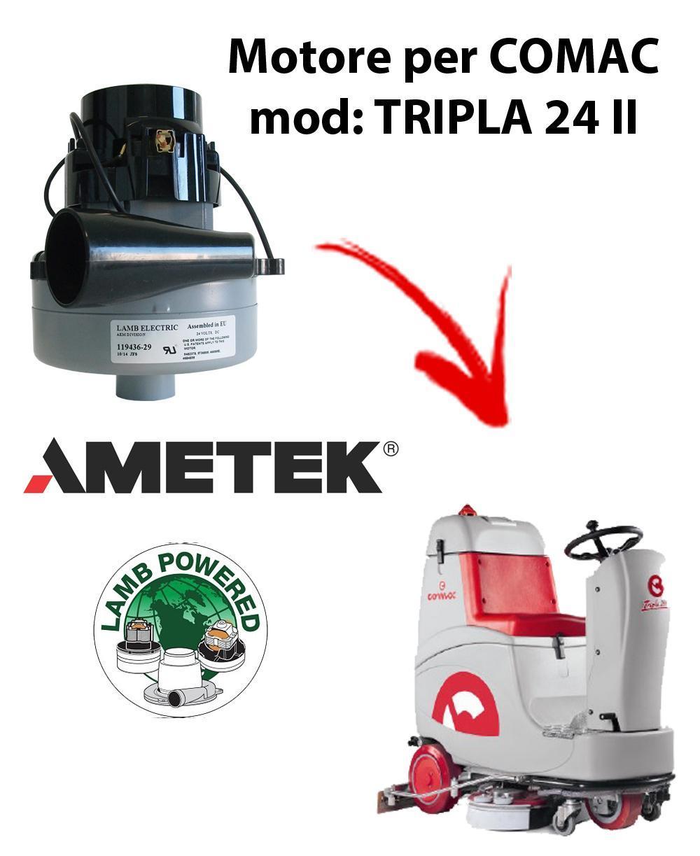 TRIPLA 24 II Ametek Vacuum Motor for scrubber dryer Comac