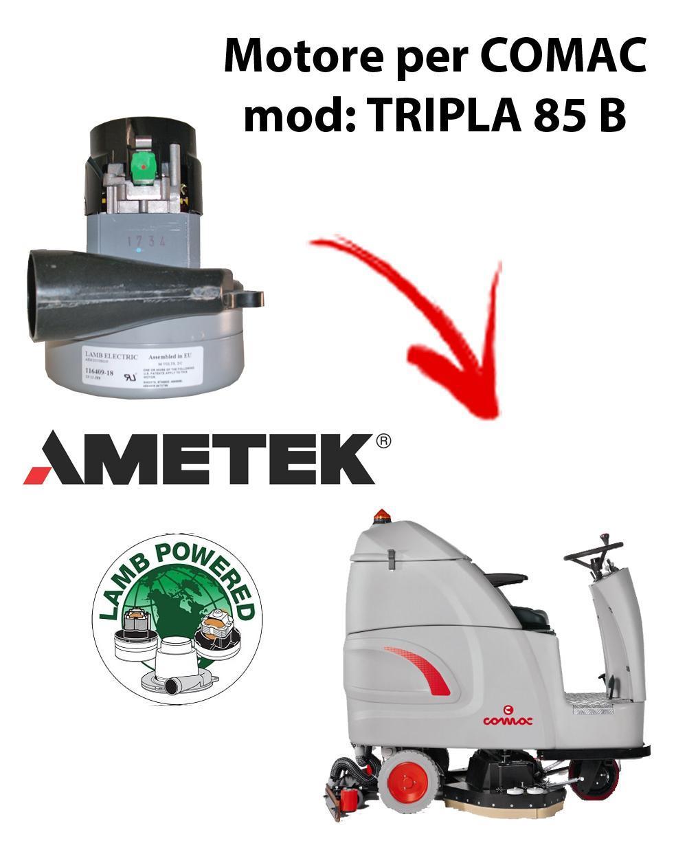 TRIPLA 85 B Ametek Vacuum Motor for scrubber dryer Comac