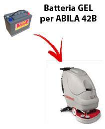 Battery for ABILA 42B scrubber dryer COMAC