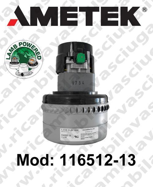 Vacuum motor 16512-13 LAMB AMETEK  for scrubber dryer