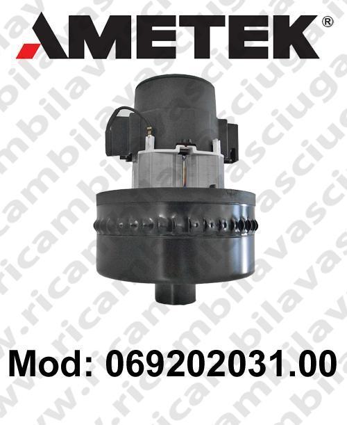 Vacuum motor 069202031.00 AMETEK for scrubber dryer